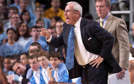 Janssen Sports Leadership Center works with Roy Williams at the University of North Carolina